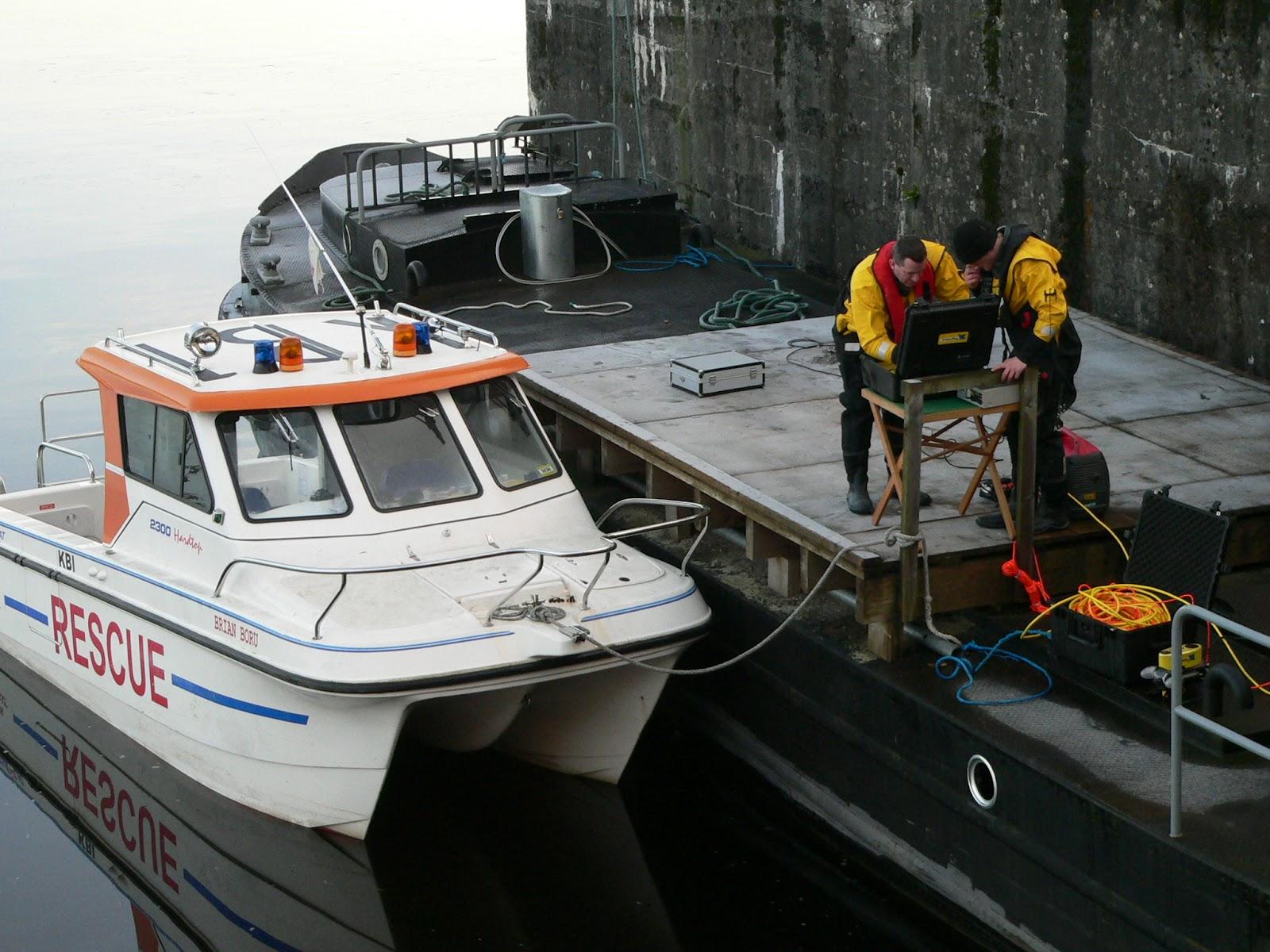Rettungsboot Killaloe Coast;© killaloecoastguardblog; click to Killaloe Coast Guard Unit