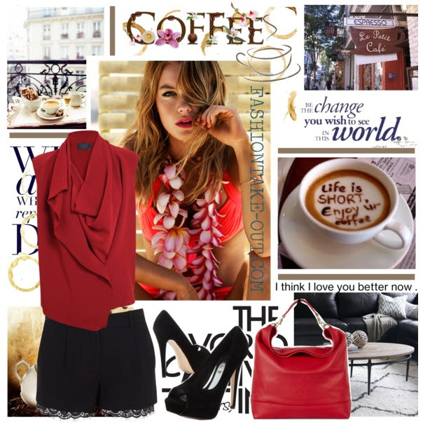 coffee haute office look