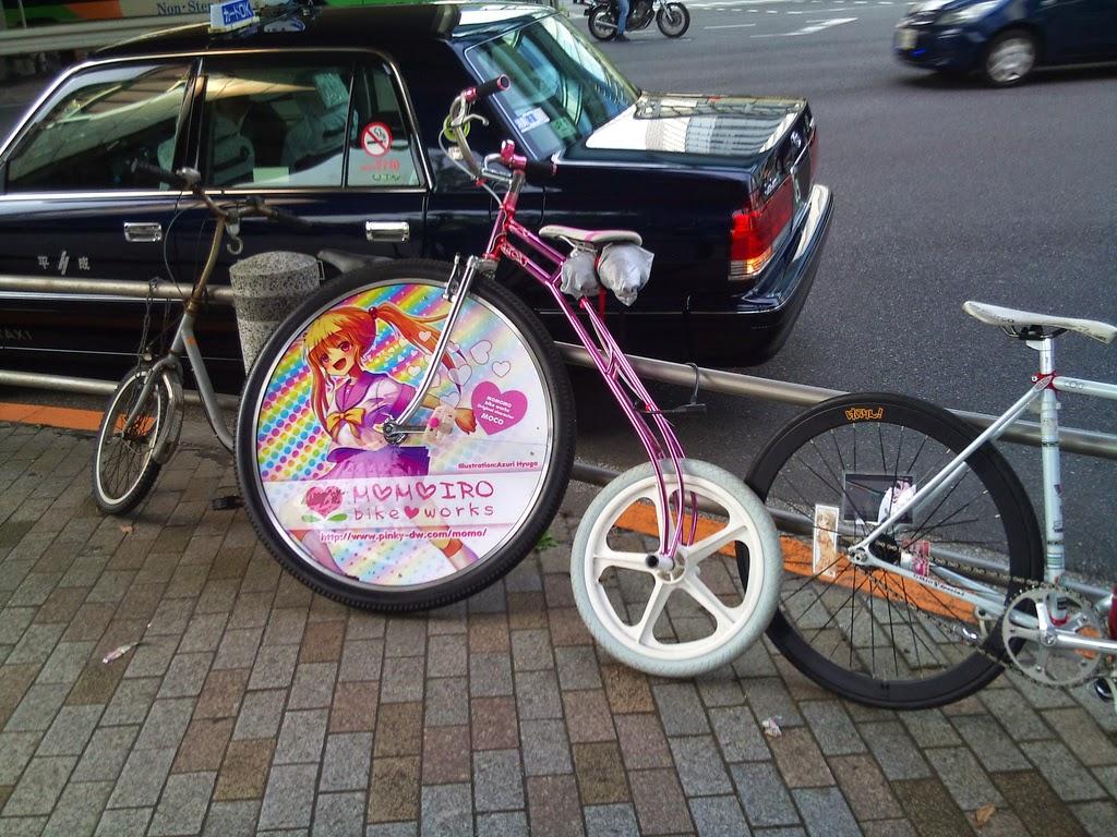Bici decorada con manga 2