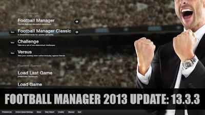 Football Manager 2013 hotfix Update