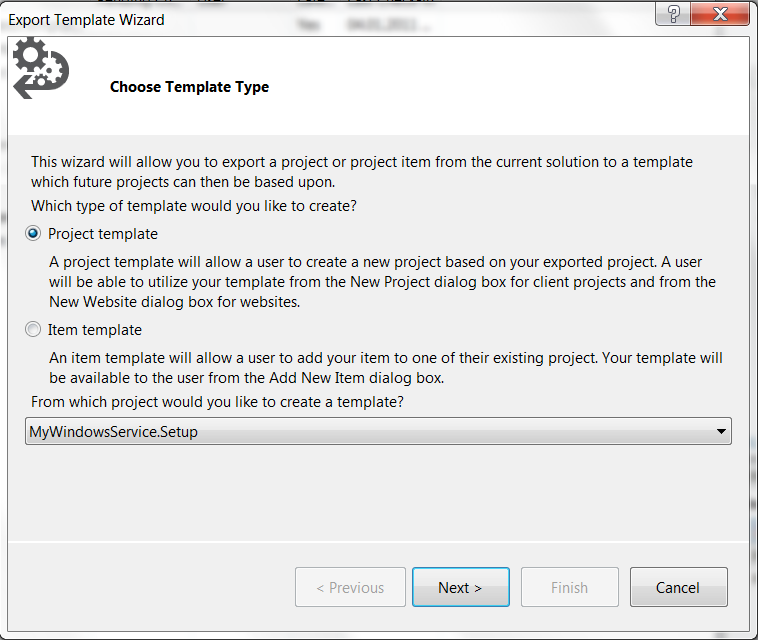 how to add wix project to visual studio