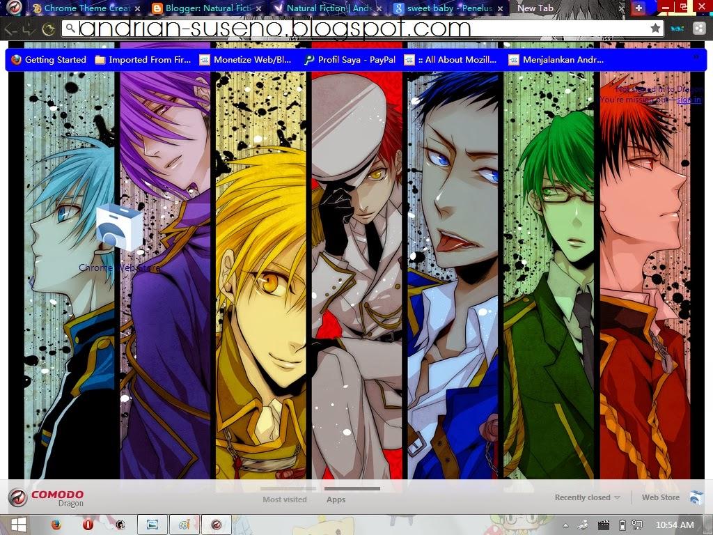 Google themes kuroko no basket - Downlod Google Chrome Theme Kuroko No Basuke Full Pict