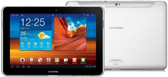 Samsung Galaxy Tab 10.1 Android 4.0 Update