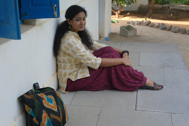 styling Harem pants