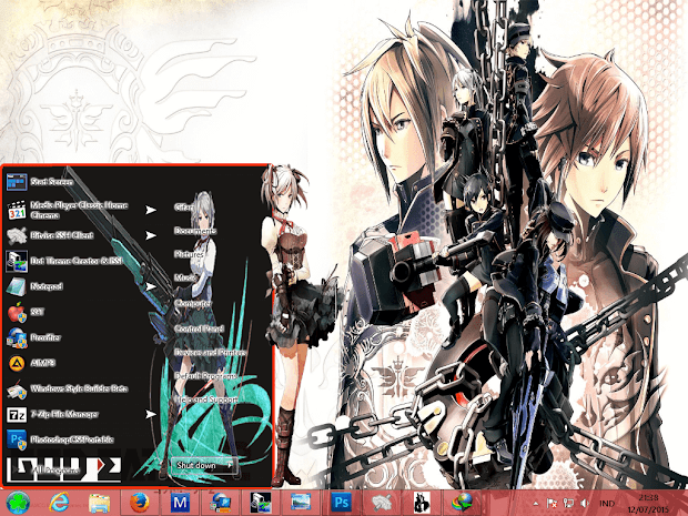 [ Theme Win 8 ] God Eater 2 1