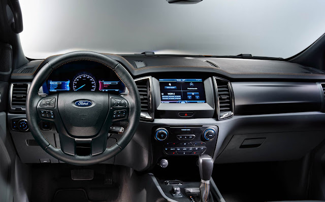 Ford New Ranger 2016 - interior
