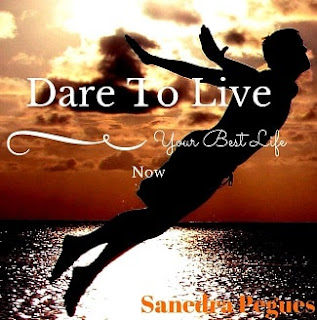 dare to live, best life now, sanedra pegues, inspirational book, mississippi author, jackson author