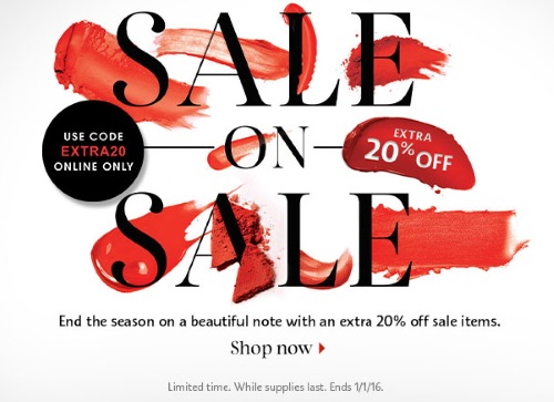 Sephora Sale On Sale Extra 20% Off Promo Code