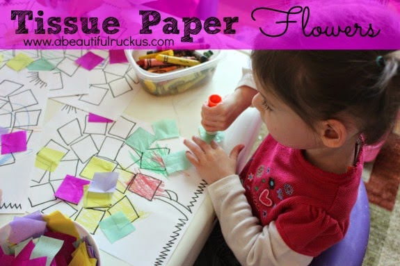 picture about Printable Tissue Paper referred to as A Appealing Ruckus: Tissue Paper Bouquets + No cost Printable
