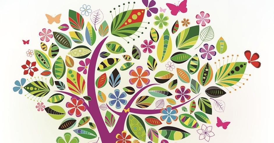 pusat desain grafis vector pohon