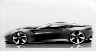 2014 Corvette Sketch