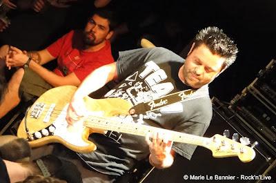 Joe Raposo from Lagwagon in Paris June 2012 Rock'n'Live