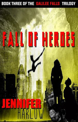 Review: Fall of Heroes by Jennifer Harlow + Giveaway (INT)