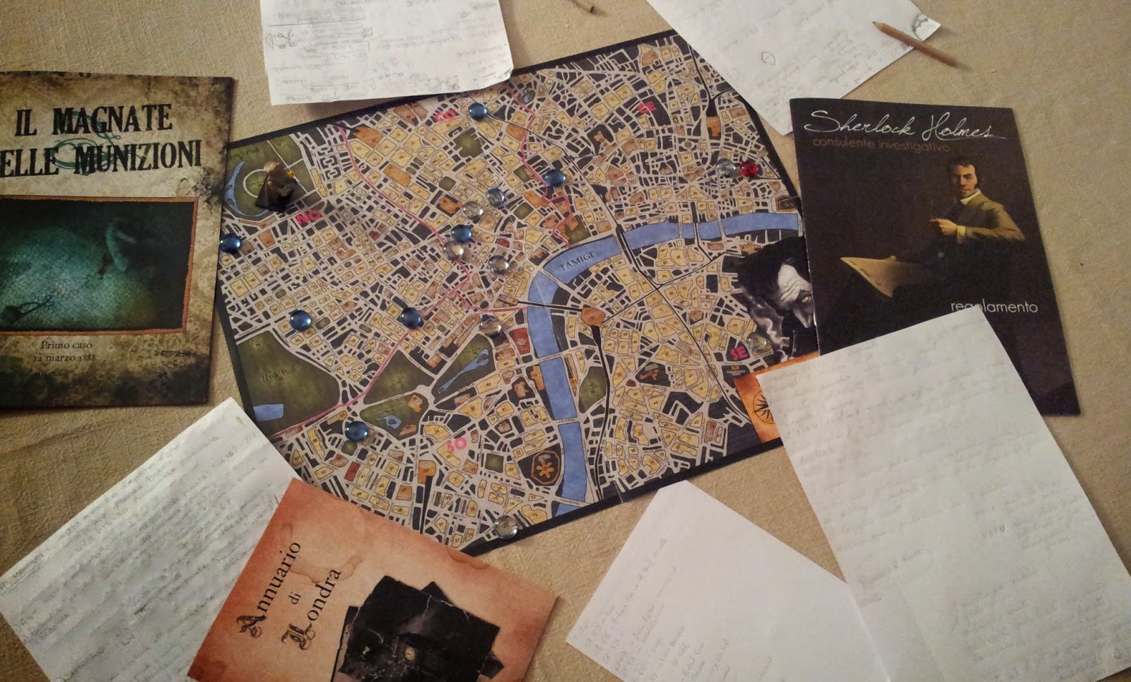 Sherlock holmes consulente investigativo recensione giochi sul nostro tavolo - Sherlock holmes gioco da tavolo ...