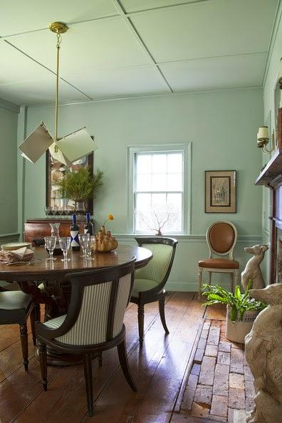 Interior designer Michelle Smith's weekend cottage in Sag Harbor, New York.
