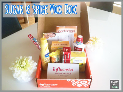 Sugar & Spice Vox Box from Influenster