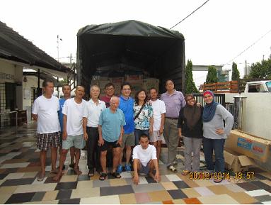 Donation to Kelantan Flood Victims 2