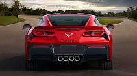 The 2014 Chevrolet Corvette Stingray back