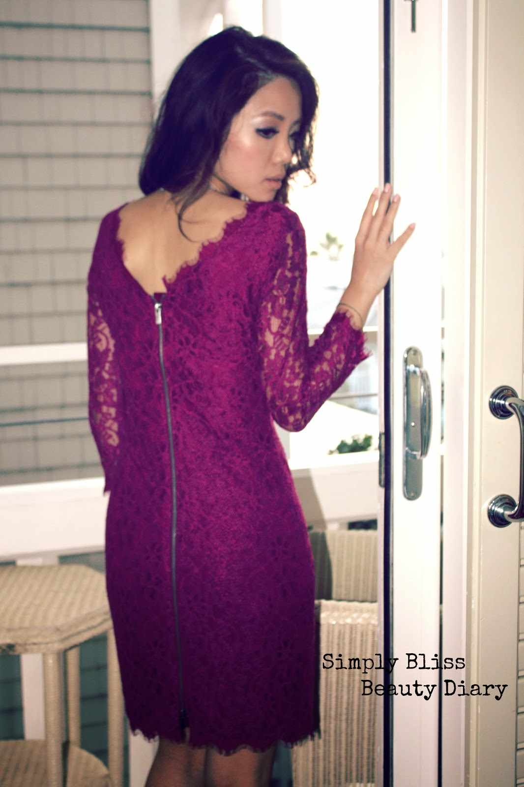 Where To Buy Dvf Zarita Long Lace Dress DVF Zarita Dress from old blog