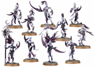 Daemons, Demon, Daemonette, Art, Alluring, sexual, Games Workshop, Diaz, Perry, history of, different versions,