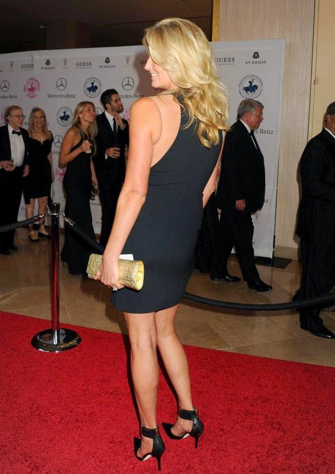 The 43-year-old, Penny Lancaster steps show to the 2014 Carousel Of Hope Ball presented By Mercedes-Benz at Beverly Hilton Hotel in California, USA on Sunday, October 12, 2014.