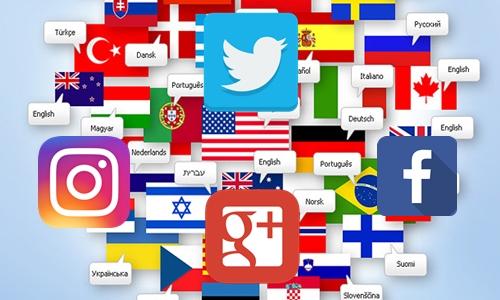 Redes sociais adicionam recursos de tradução para auxiliar usuários