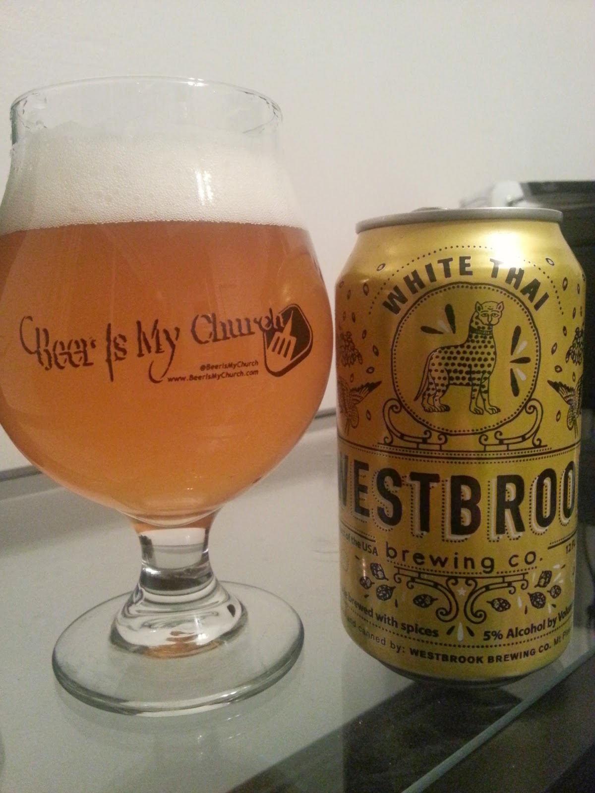Westbrook Brewing, South Carolina, Beer, Craft Beer, White Thai