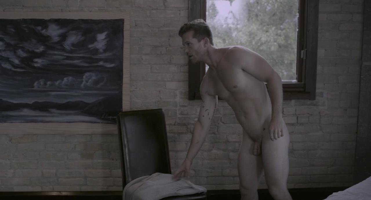 "Provocative Wave for Men: Chad Connell caught naked in ""Steel"""