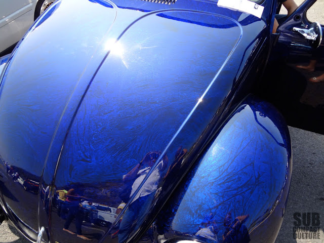 Custom Volkswagen Bug paint job