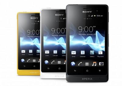 Sony Xperia Go dan Xperia Acro S