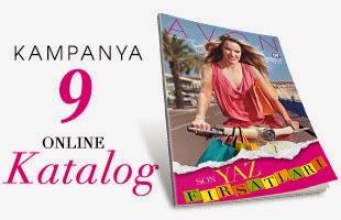 katalog Avon Ağustos Kataloğu 2014 ve K9 Fırsat Broşürü