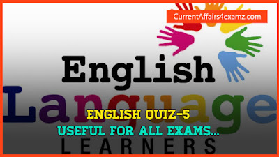 English Quiz for SSC CHSL 2015