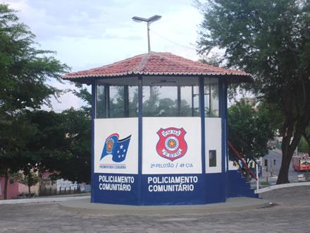 POSTO POLICIAL COMUNITÁRIO DA PRAÇA DA BÍBLIA