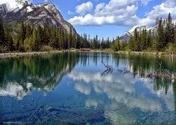 Lorette Ponds,  Kananaskis County, Alberta