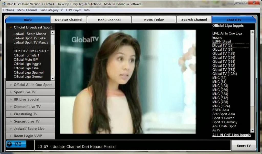 Software Nonton Tv streaming