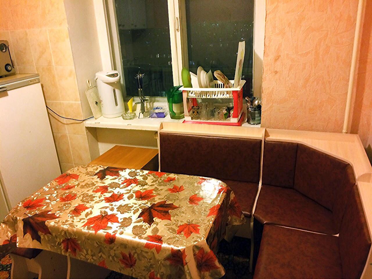 Аренда квартиры посуточно (кухня)