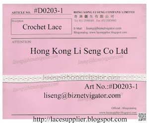 Crochet Lace Manufacturer - Hong Kong Li Seng Co Ltd