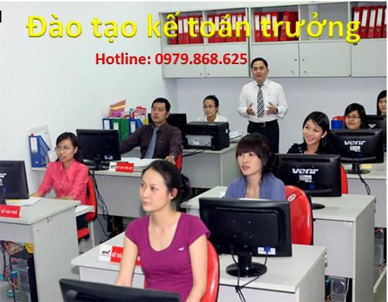 Đào tạo kể toán tổng hợp,kế toán trưởng.LH 0979.868.625