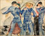 Dancing Sailors, 1917
