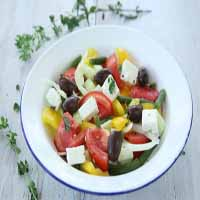Weight Loss Recipes : Greek Salad
