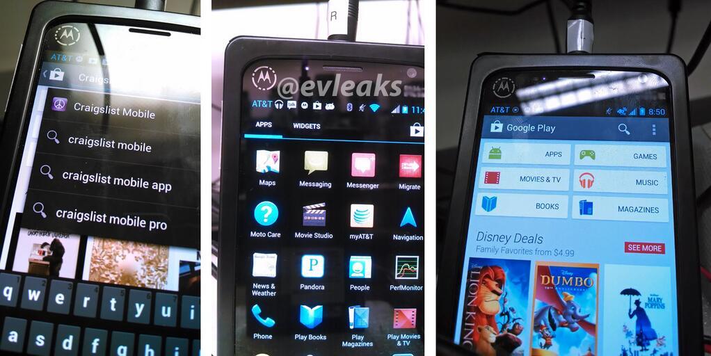 Motorola XFON leaked images