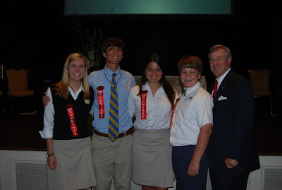 Montgomery Catholic Students Nominated for Volunteers of the Year 1
