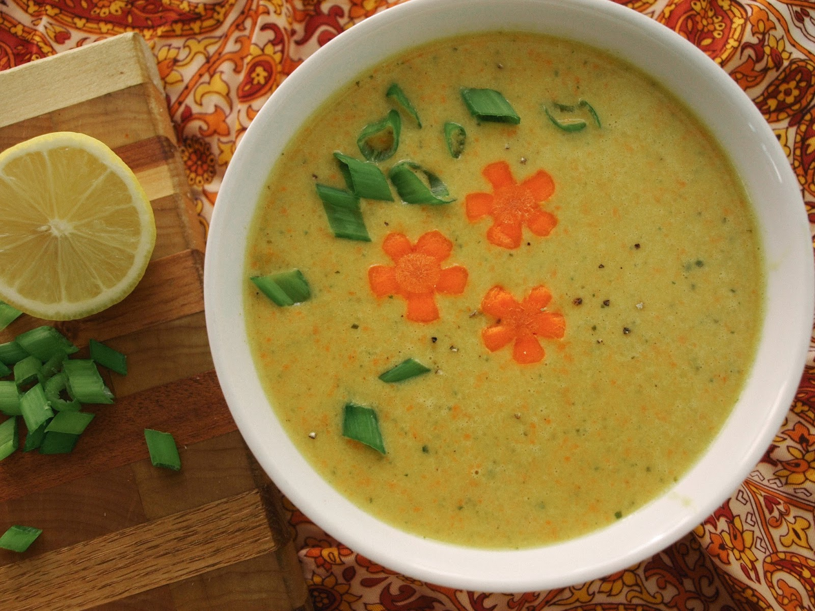 Carrot Ginger Coconut Soup And Kale Chips Recipes — Dishmaps