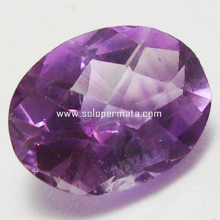 Batu Permata Amethyst Quartz - 13B02