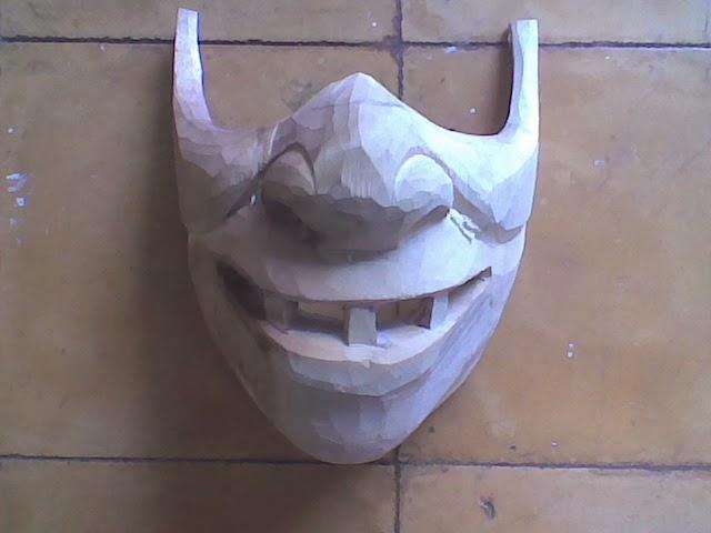 topeng custom : Jasa Pembuatan Kerajinan dari Kayu : sanggar yudistira