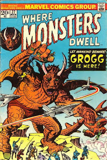 Marvel Comics Where Monsters Dwell Scan