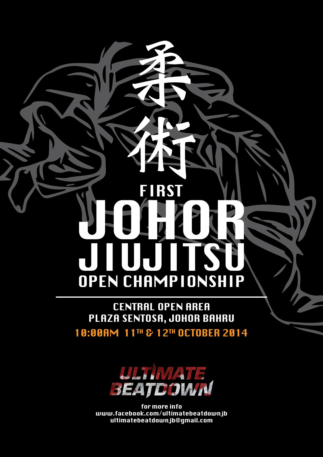 Johor JiuJiitsu Open Championship
