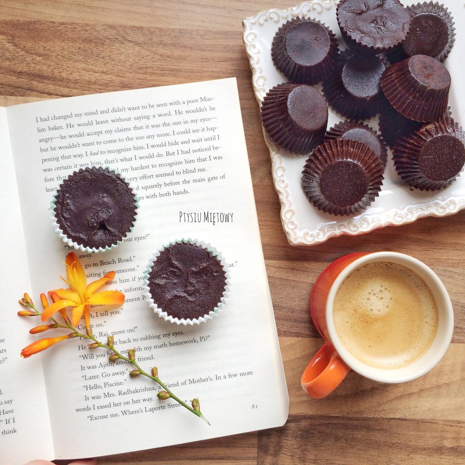 zdrowe czekoladki, ptysiu miętowy