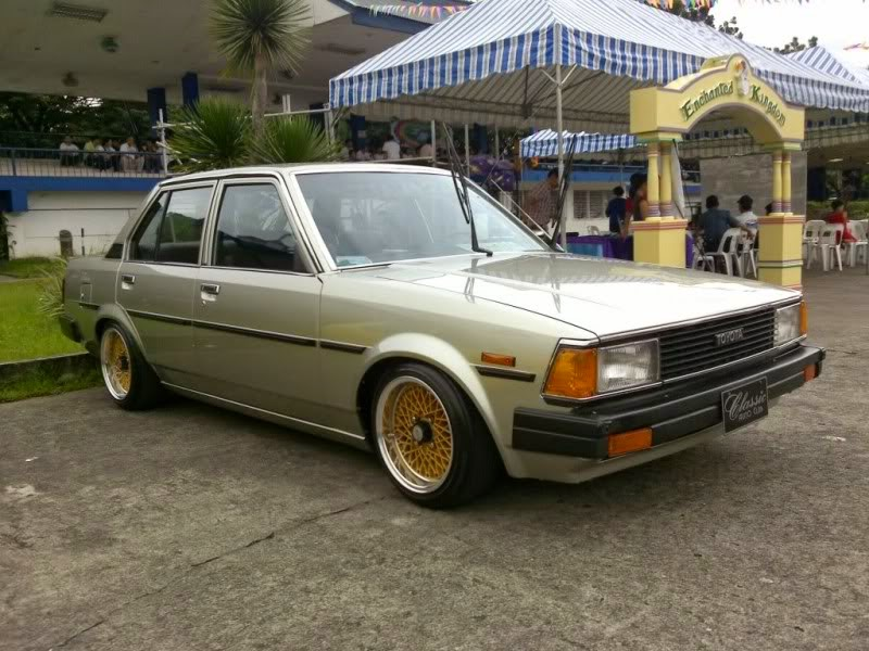 modifikasi toyota corolla dx retro