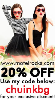 Official discount on Motel Clothing for SKinny Bish followers!